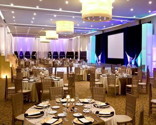 Cena de gala en salón