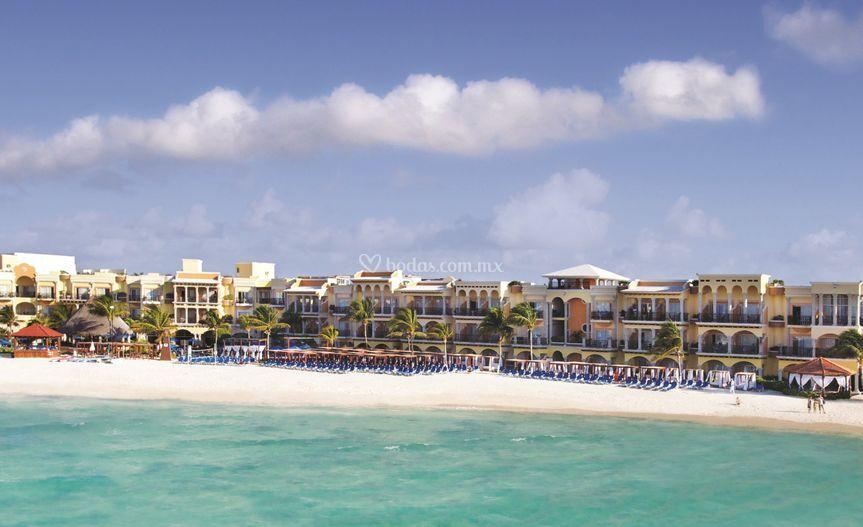 Panama Jack Resort Playa del Carmen Aerial View
