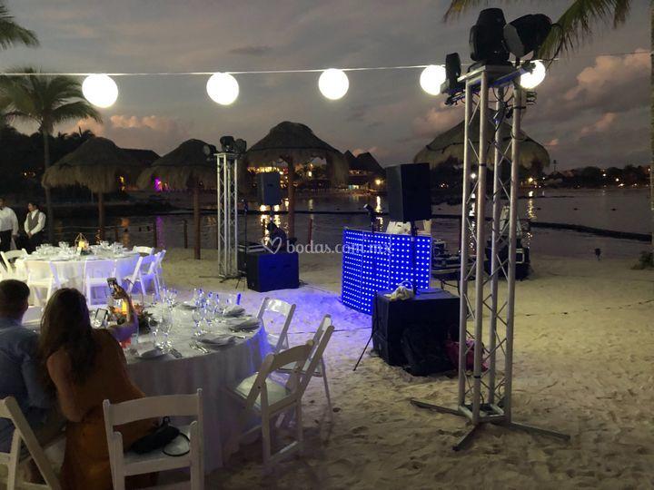 Fiestas en la playa