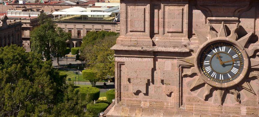 Terraza vista desde catedral