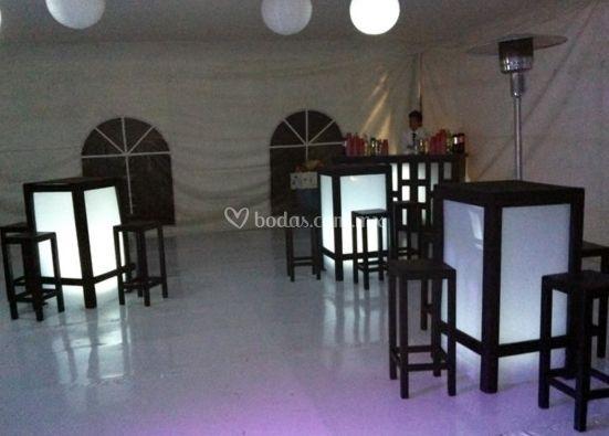 Ambiente de fiesta
