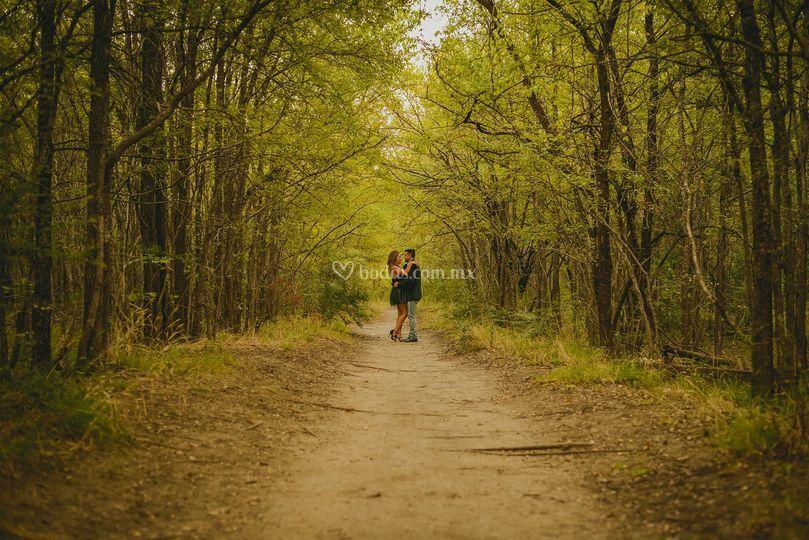 Fotografía de pareja en Sierra
