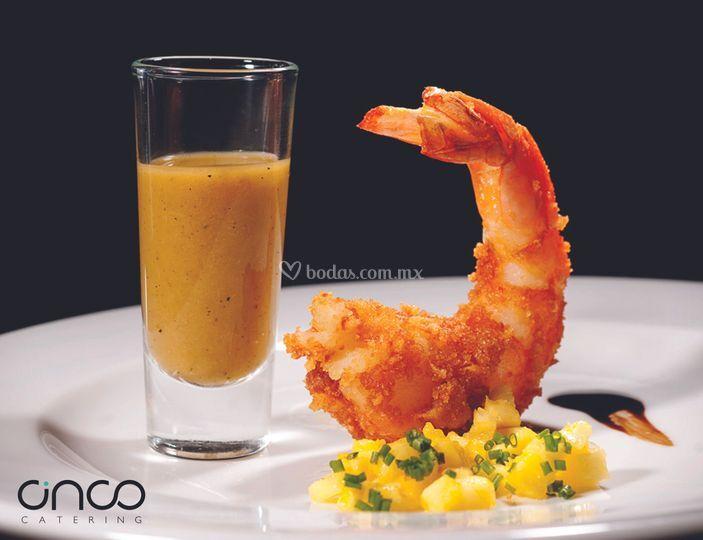 Platillos-cinco catering