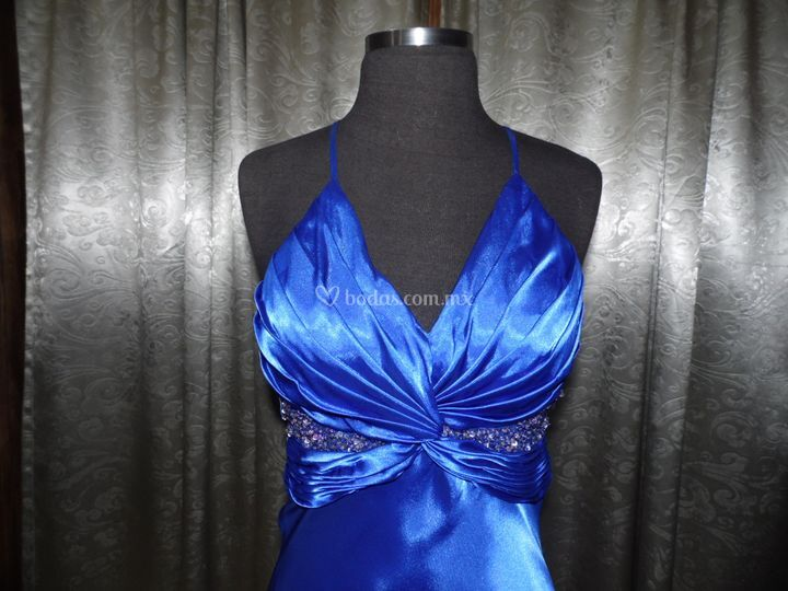 Azul llamativos