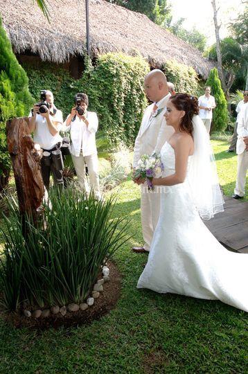 Ceremonias jardín