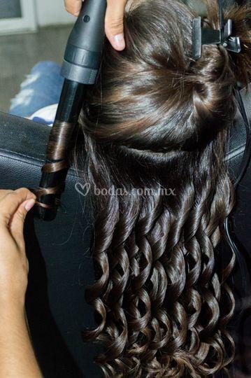 Preparacion del cabello