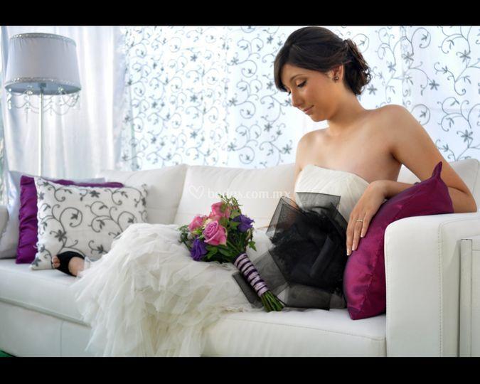 Novia en lounge Hermosillo