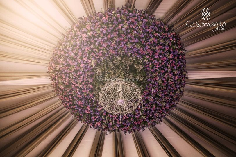 Diseño Floral de Casamento Festa