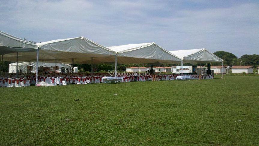Evento para 2000 personas