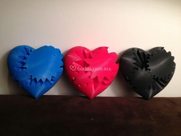 Corazón de engranes (móvil)