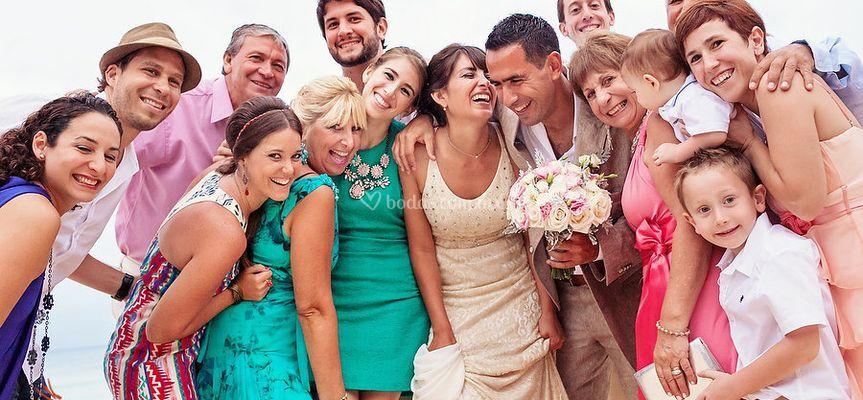 Amigos y familia