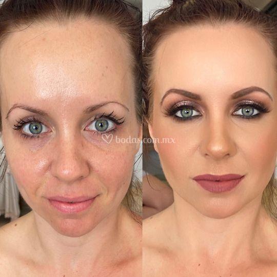 Maquillaje social