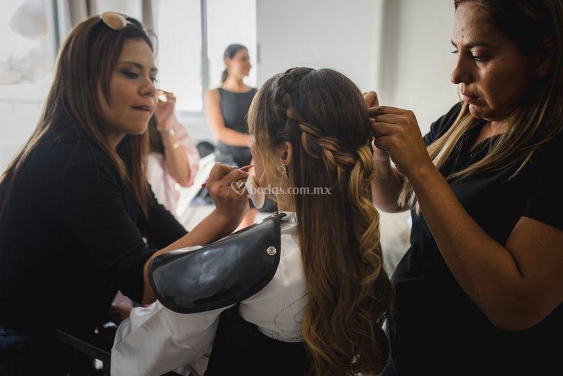 Fernanda Montealegre Makeup Artist
