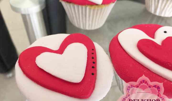 Cupcakes de fondant