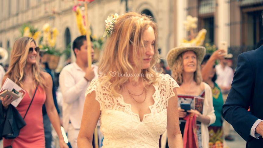 Calenda boda destino