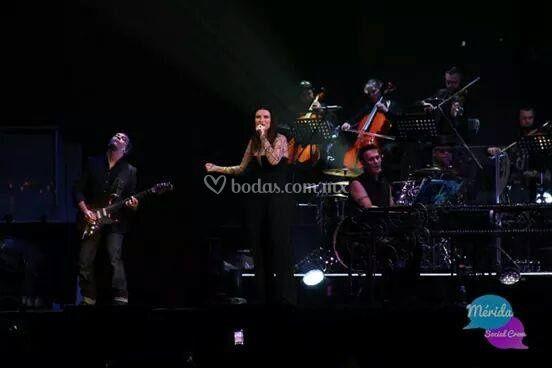 QV con Laura Pausini - Coliseo