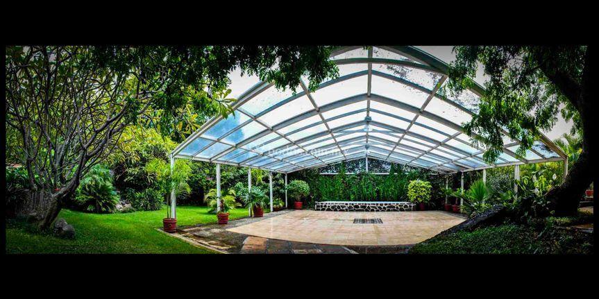 Jardin banquete de villa magnolia foto 1 for Villas de jardin port glaud