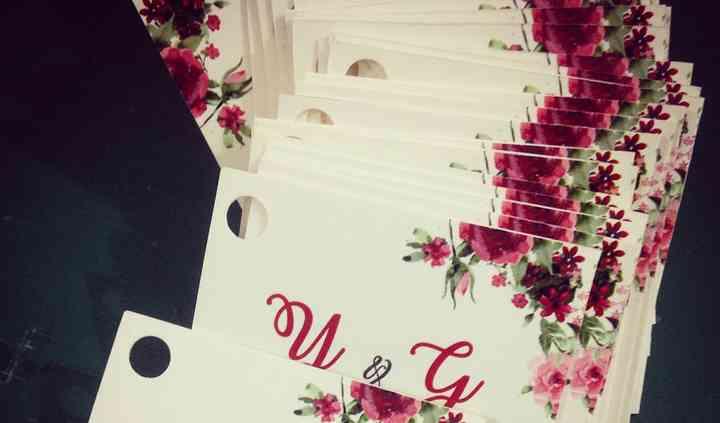 Tarjetas para souvenirs