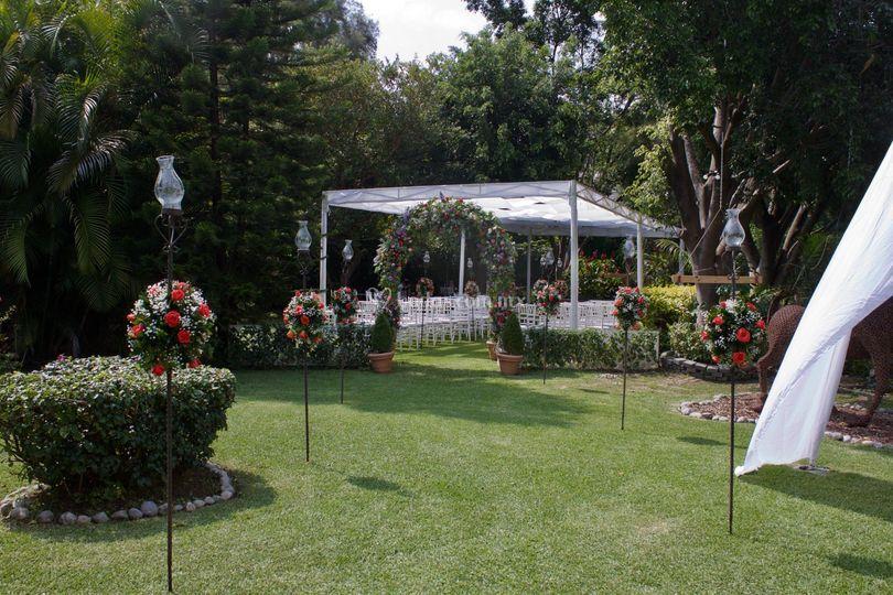 Área de ceremonias