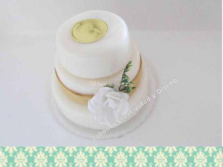Pastel de jabón