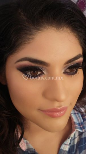 Close up maquillaje