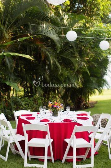 Decoración boda Liza