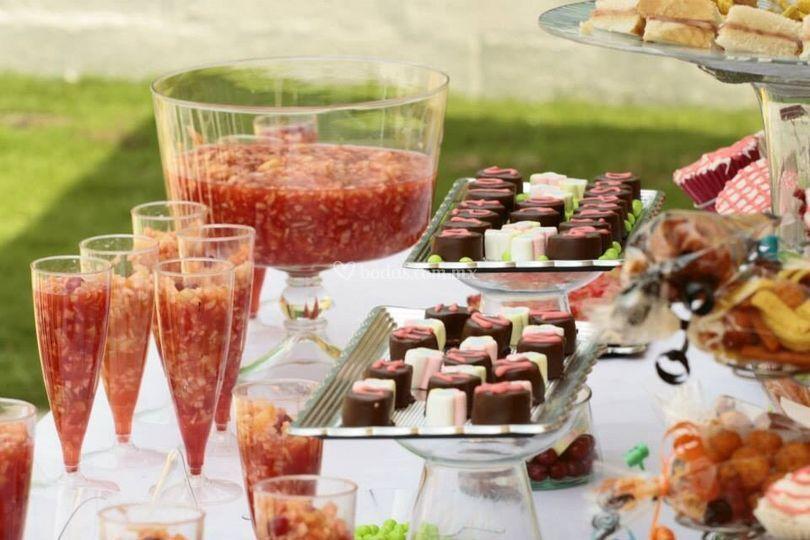 Candy Bar Arcoiris de Sabor