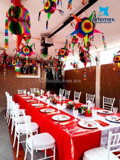Decoracin boda mexicana de artemex papel picado foto 37 decoracin boda mexicana altavistaventures Image collections