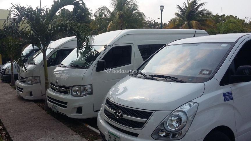 Transporte para bodas Cancún