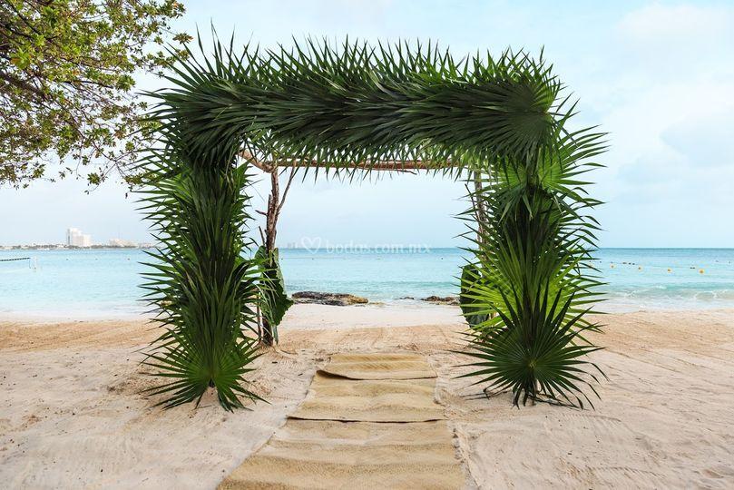 Gazebo tropical