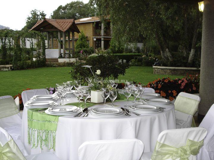 Caba a nupcial de jard n de los olivos fotos for Cabanas para jardin