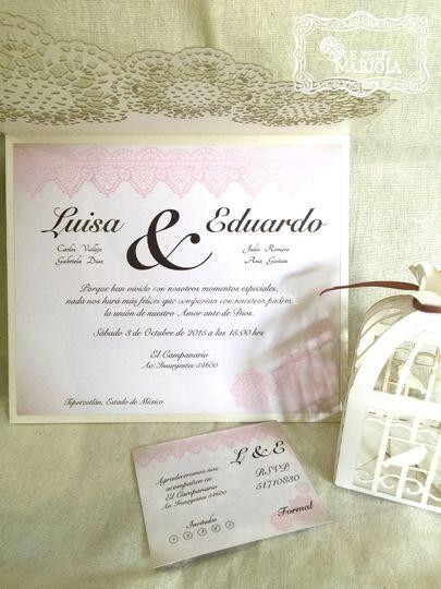 Mod. Luisa y Eduardo