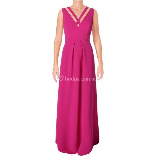 Vestido color Fuccia talla 4