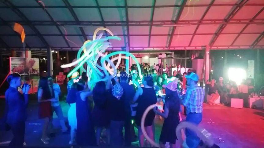Fiesta con club 54