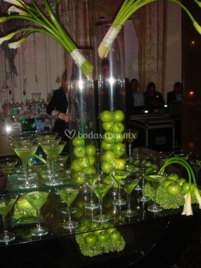 Martinis de pera
