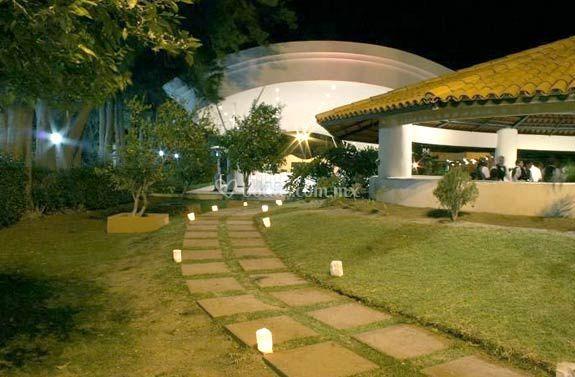 Iluminación  de Hacienda Los Pavorreales