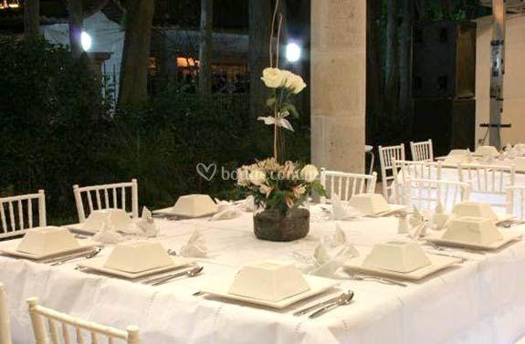 Elegantes mesas