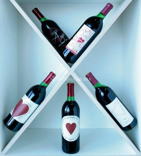 Vinos estiqueta personalizada