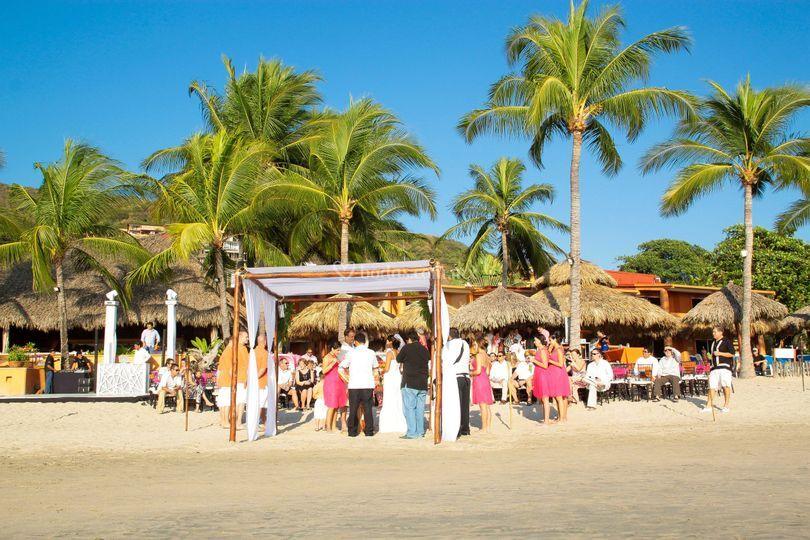 El sol ,la arena,tu boda