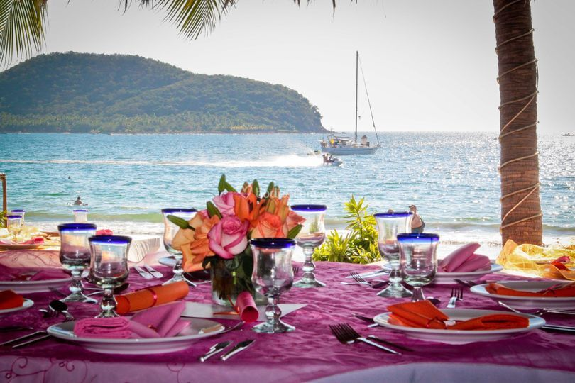 El mar, mi boda