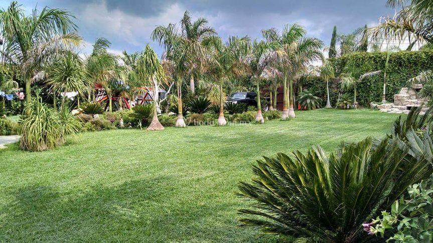 Bodas jardín