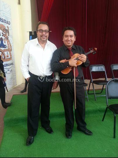 Violinista clásico