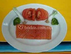 Salmon Lonja