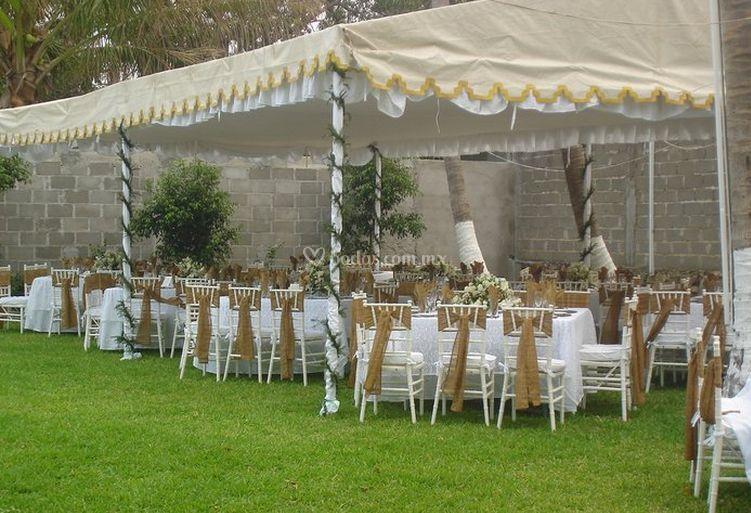 Para el banquete de bodas