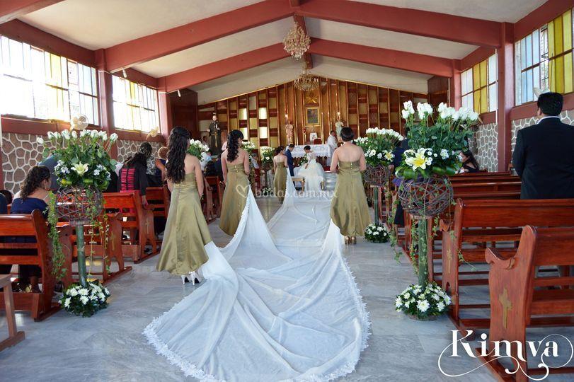 Ceremonia con Kimva