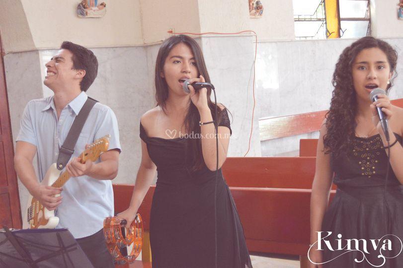 Cantando con pasión