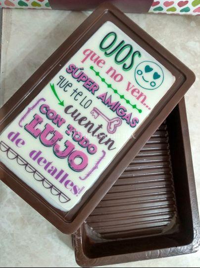 Caja de chocolate