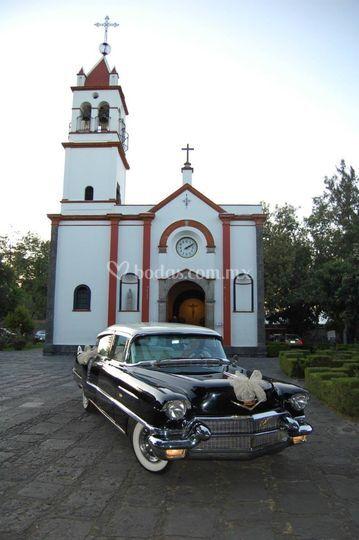 Auto de la novia