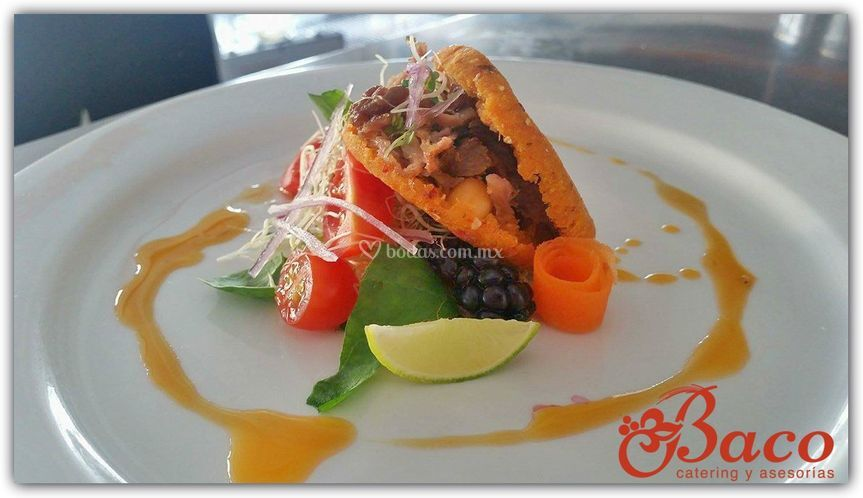 Catering mexicano