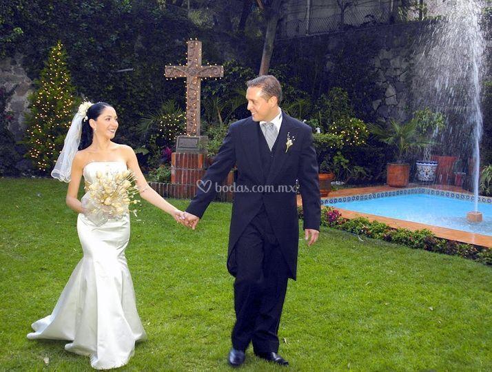 Haciendas para bodas m xico for Jardines olmedo